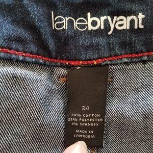 Lane Bryant Skirts - Lane Bryant Jean Skirt
